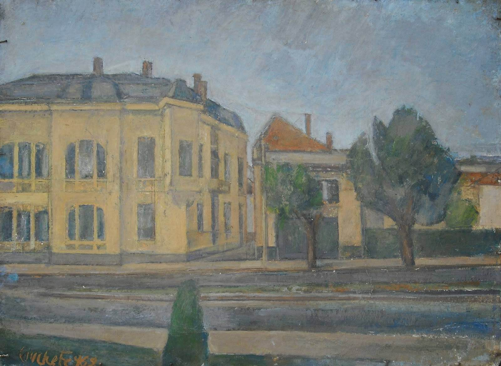 Peisajul urban,Gheorghe Ciuchete la Galeria de Artă a Craiovei