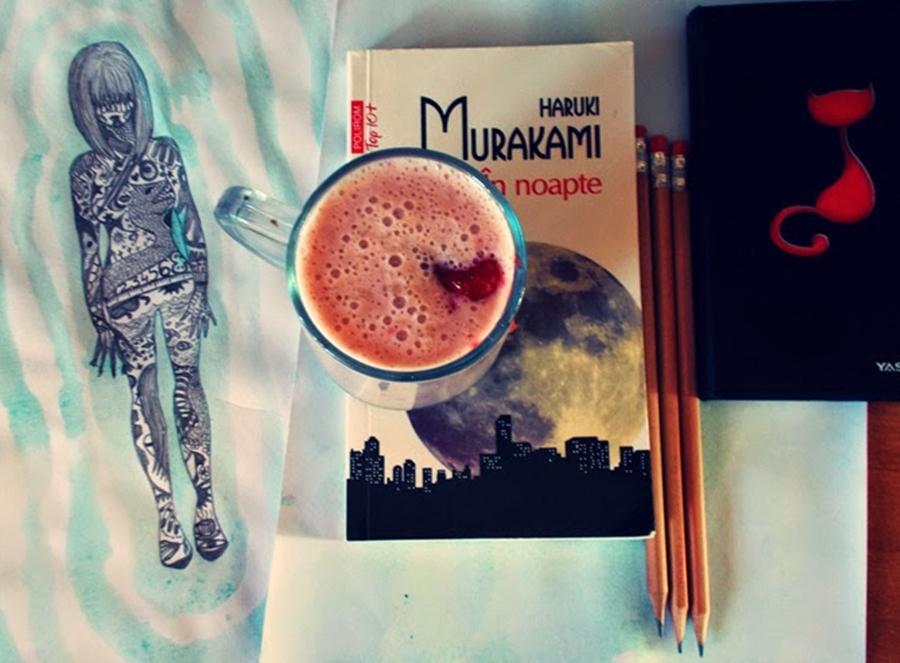 în noapte un roman de haruki murakami