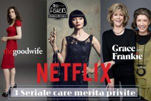 3 seriale misto pe Netflix