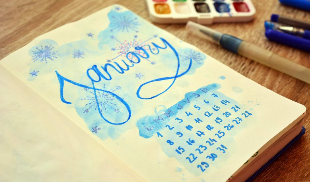 Bullet Journal Ideas January