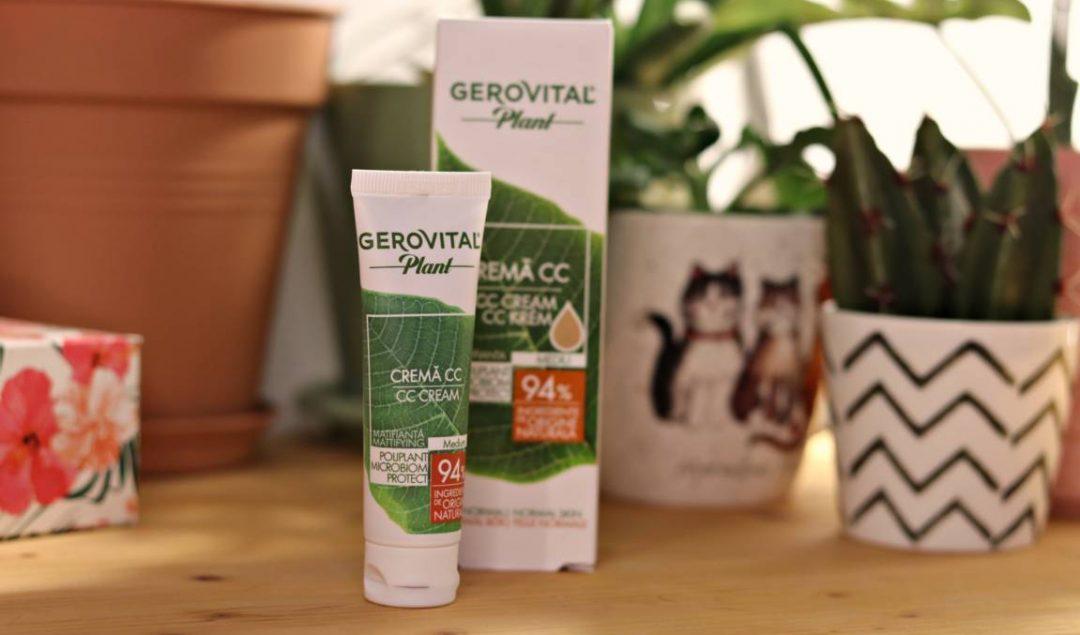 CC Cream Gerovital Plant